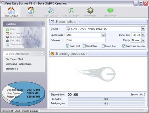 Free Easy CD DVD Burner 5 Free Download