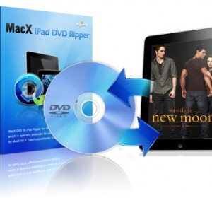 MacX DVD Ripper for iPad free with Coupon