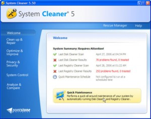 System Cleaner 5.94i Free Download