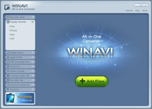 WinAVI All-In-One Converter 1.6.1.4267 Free Download