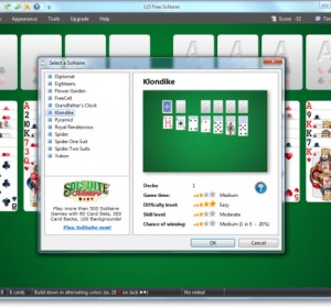 123 Free Solitaire 2011 Free