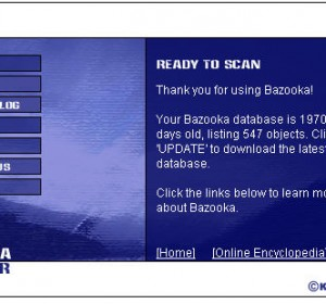 Bazooka Adware and Spyware Scanner Free